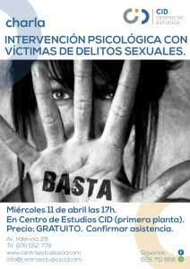Intervencion psicologica victimas delitos sexuales2018